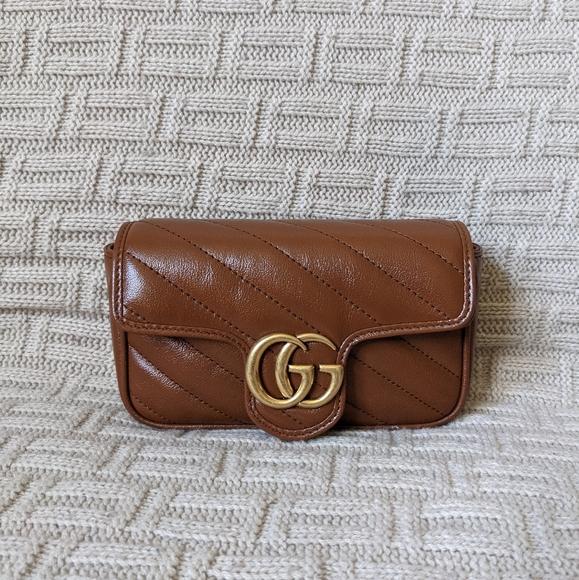Gucci Handbags - SOLD-Gucci GG Marmont Matelassé Super Mini Bag-EUC